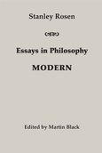 Essays in Philosophy: Modern