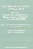 Philosophical Orations of Thomas Reid, The