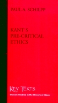 Kant's Pre-Critical Ethics
